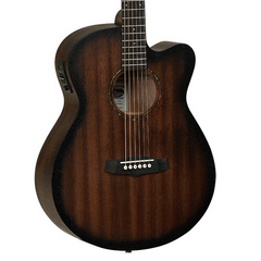 Tanglewood Crossroads Super Folk Cutaway Electro Acoustic Guitar - Whiskey Barrel Burst