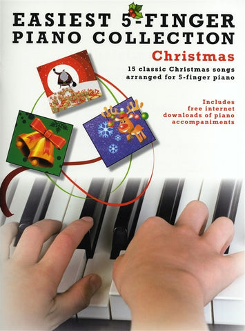Easiest 5-Finger Piano Collection: Christmas