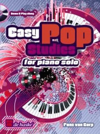 Fons van Gorp: Easy Pop Studies (Piano + CD)