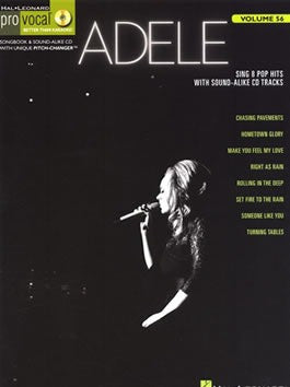 Pro Vocal Volume 56: Adele (with CD)
