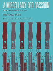 Michael Rose: A Miscellany for Bassoon Book 2