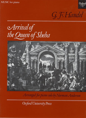 G.F. Handel: Arrival of the Queen of Sheba - Piano Solo