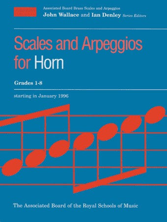 ABRSM Scales and Arpeggios - Horn (F) - Grades 1-8