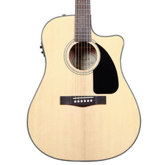 Fender CD-60CE Electro-Acoustic Guitar - Dreadnought Cutaway - Natural