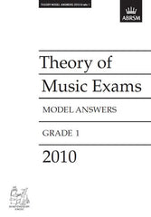 ABRSM Theory of Music Exam Papers 2010 - Grade 1 - Model Answers