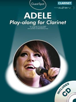 Guest Spot: Adele Play-along for Clarinet (with CD)