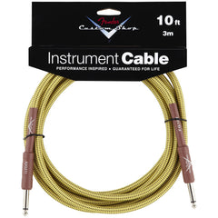 Fender Custom Shop Instrument Cable in Tweed - 10ft