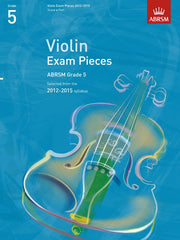 ABRSM Selected Violin Exam Pieces 2012-2015 - Grade 5 - Violin + Piano