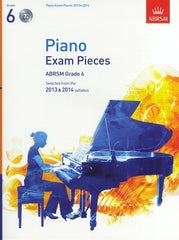 ABRSM Piano Exam Pieces 2013-2014 - Grade 6 (with CD)