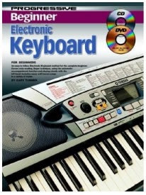 Progressive Beginner Electronic Keyboard (with CD + DVD)