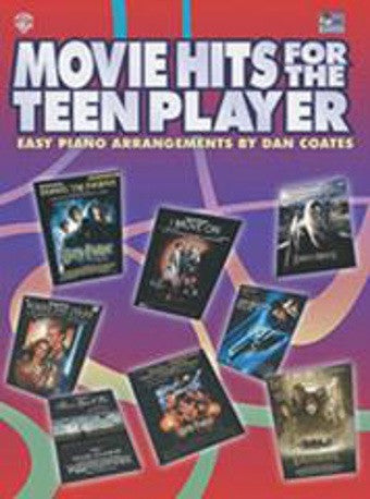 Movie Hits for the Teen Player - Dan Coates - Piano