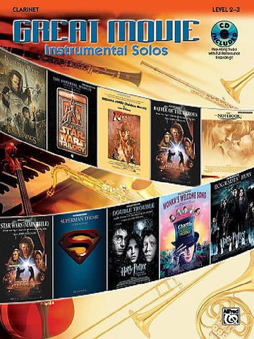 Great Movie Instrumental Solos - Clarinet