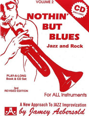 Jamey Aebersold Volume 2 - Nothing but Blues (All Instruments + CD)