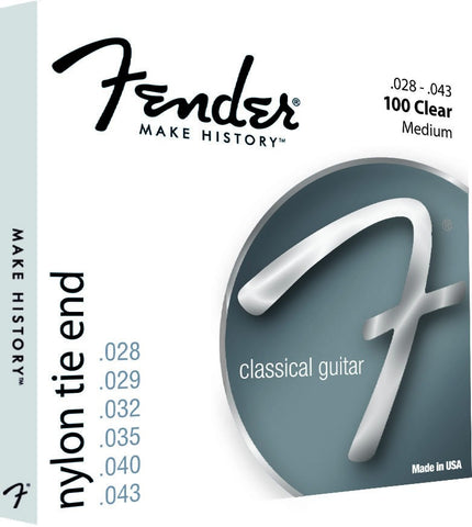 Fender 100 Classical Guitar Strings - Medium - Set