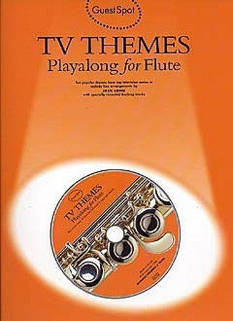 Guest Spot: TV Themes Playalong For Flute (with CD)