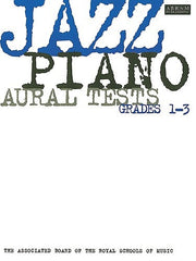 ABRSM Jazz - Piano Aural Tests Grades 1-3