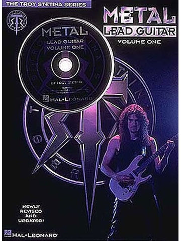 Metal Lead Guitar - Volume 1 (with CD) - Guitar Tab