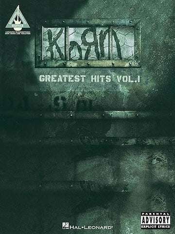 Korn: Greatest Hits Volume 1 - Guitar Recorded Versions (Guitar TAB)
