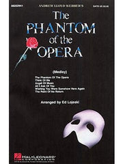 A.L. Webber: The Phantom of the Opera (Choral Medley) - SATB + Piano