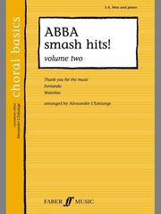 Abba Smash Hits! - Volume 2 - SA Men + Piano