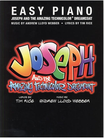 Joseph and the Amazing Technicolor Dreamcoat - Easy Piano