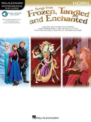 Hal Leonard Instrumental Play-Along: Songs from Frozen, Tangled + Enchanted - Horn (Online Audio)