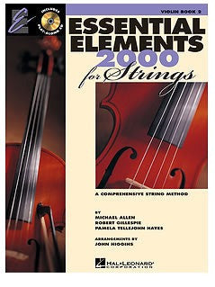 Essential Elements 2000 for Strings - Book 2 - Violin (with CD)