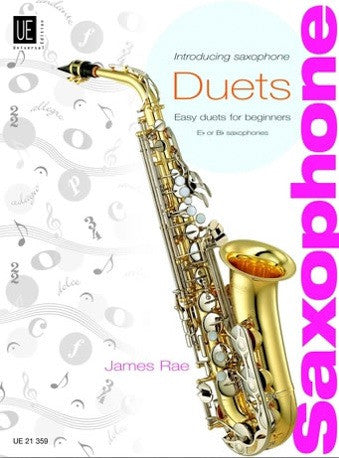 James Rae - Introducing Saxophone Duets (Eb or Bb Saxophones)