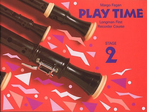 Margo Fagan: Play Time Recorder Course Stage 2 (Descant Recorder)