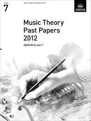 ABRSM Theory of Music Exam Papers 2012 - Grade 7
