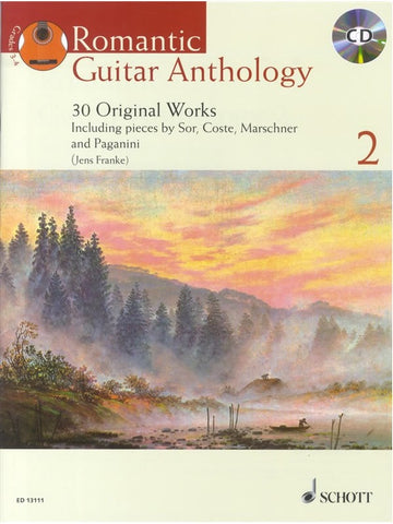 Romantic Guitar Anthology - Volume 2 (with CD)