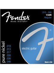Fender 150R Pure Nickel Electric Guitar Strings - Regular (10-46) - Set