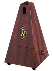 Wittner Metronome without Bell - Mahogany (Plastic Wood Grain)