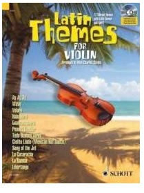 Latin Themes for Violin (with CD)