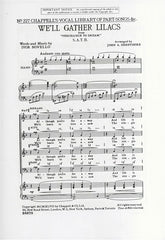 I. Novello: We'll Gather Lilacs - SATB