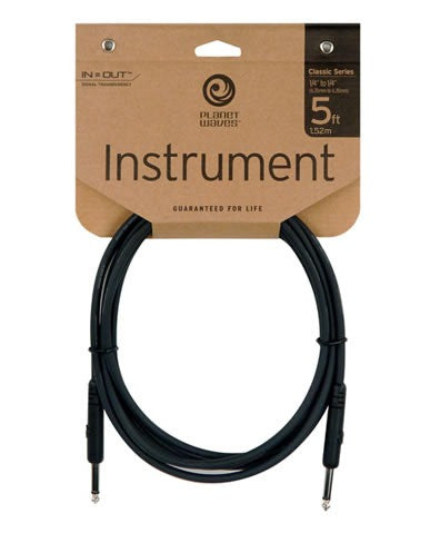 Planet Waves Classic Series Instrument Lead - 5ft