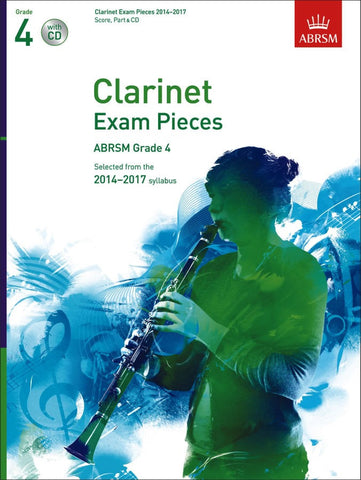 ABRSM Clarinet Exam Pieces 2014-2017 - Grade 4 - Clarinet + Piano (with CD)
