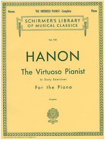 C. Hanon: The Virtuoso Pianist in Sixty Exercises for The Piano (Complete)