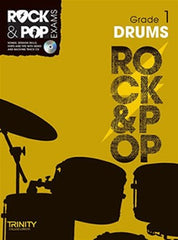 Trinity Rock + Pop Exams: Drums Grade 1 (with CD)