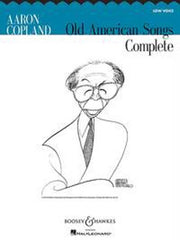 Aaron Copland: Old American Songs Complete (Low Voice/Piano)