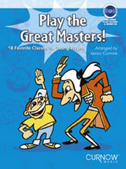 Play The Great Masters! (Bassoon or Trombone or Euphonium + CD)