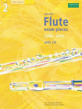 ABRSM Selected Flute Exam Pieces 2008-2013 - Grade 2 - Flute + Piano (with CD)