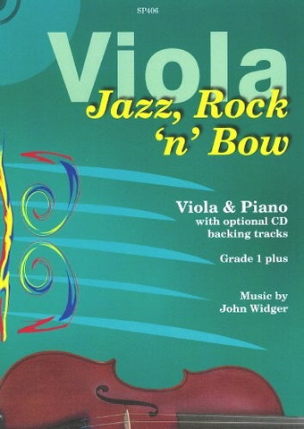 Jazz, Rock 'n' Bow (Viola/Piano + CD)