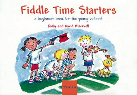 Fiddle Time Starters - New Edition (with CD)