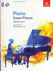ABRSM Piano Exam Pieces 2013-2014 - Grade 8 (with CD)