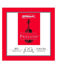 D'Addario Prelude Violin Strings - Medium - 1/2 - Set