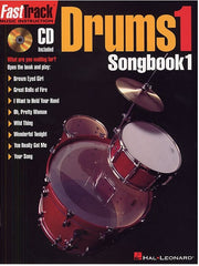 Fast Track: Drums 1 - Songbook 1 (with CD)