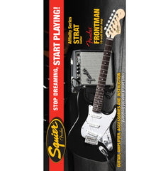 Squier Affinity Series Stratocaster in Black with Fender 10G Amp Pack