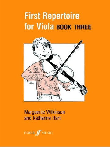 First Repertoire for Viola Book 3