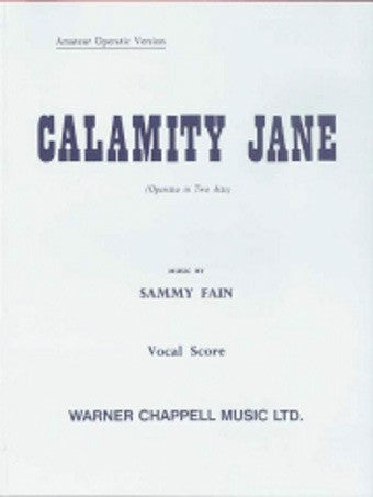 Calamity Jane - Vocal Score